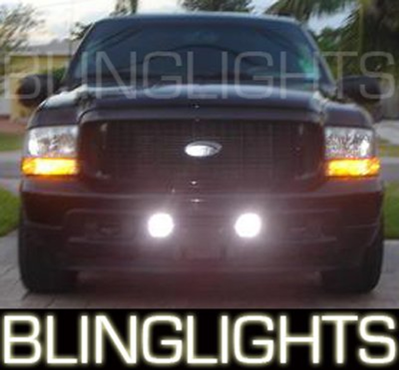 2000 2001 2002 2003 2004 2005 Ford Excursion Xenon Foglamps Foglights Driving Fog Lamps Lights Kit