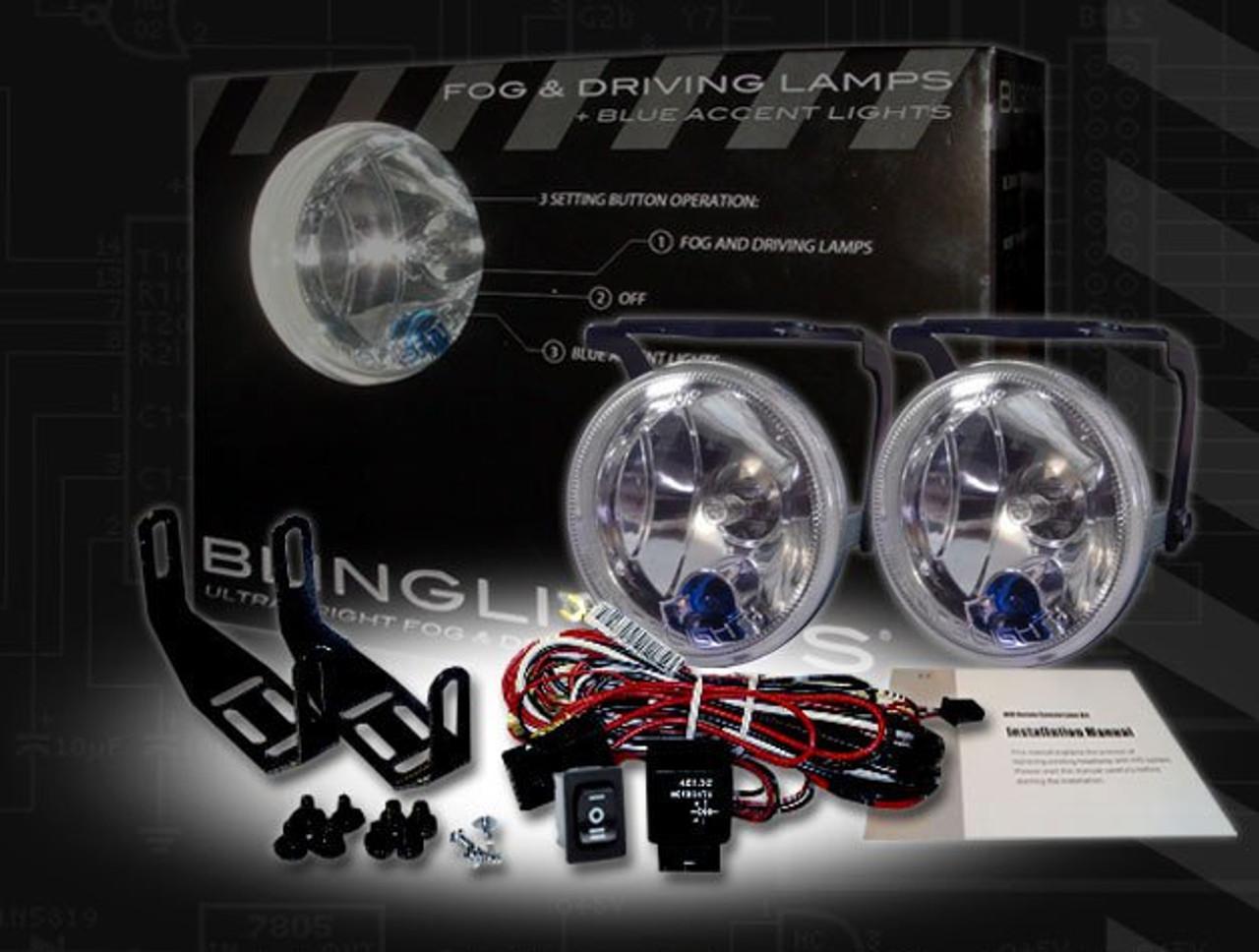 2002 2003 2004 Nissan Xterra Xenon Fog Lamps Lights Kit