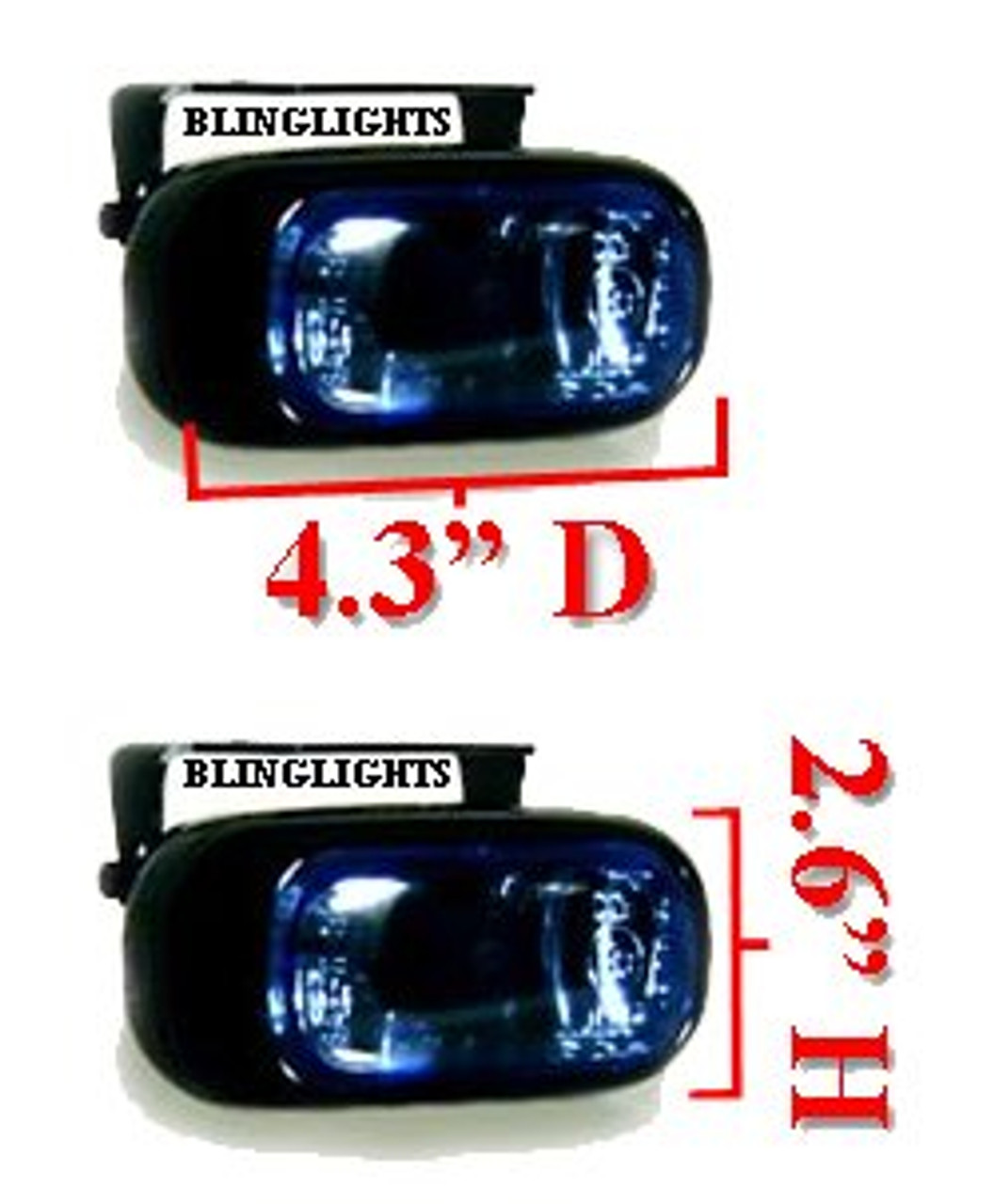 2002 2003 2004 2005 2006 2007 2008 2009 Hummer H2 Xenon Fog Lamps Driving Lights Kit