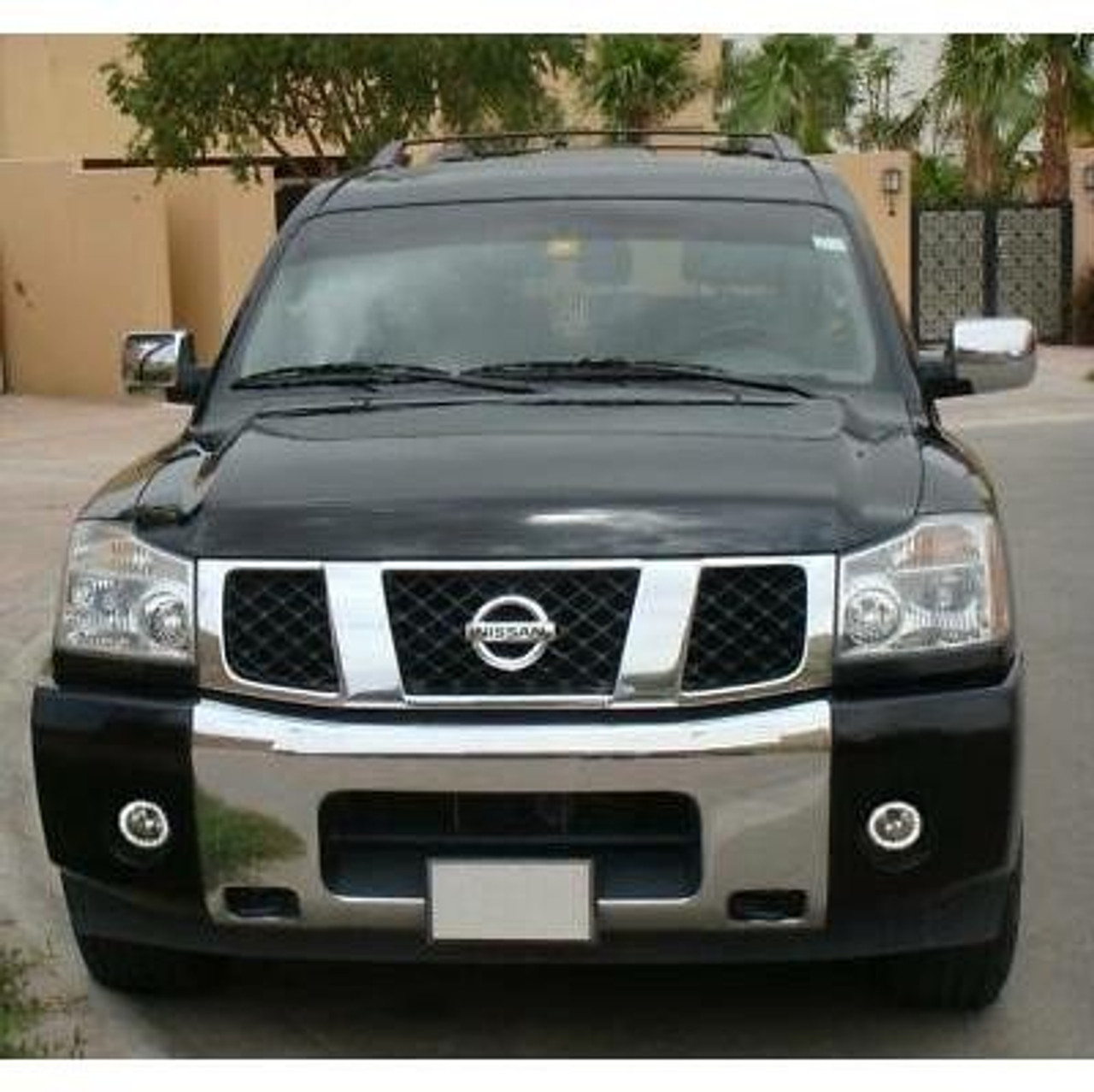 2004 2005 2006 2007 Nissan Armada Halo Foglamps Angel Eye Drivinglights Kit