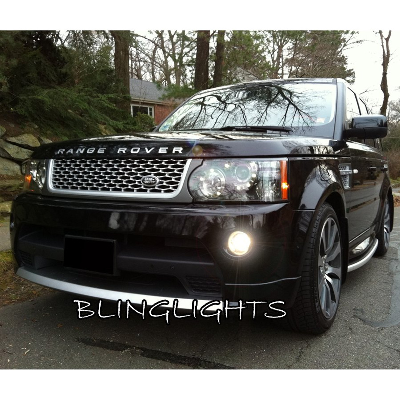 2010 2011 2012 Range Rover Sport Supercharged Xenon Fog Lamps Driving Lights Foglamps Foglights Kit