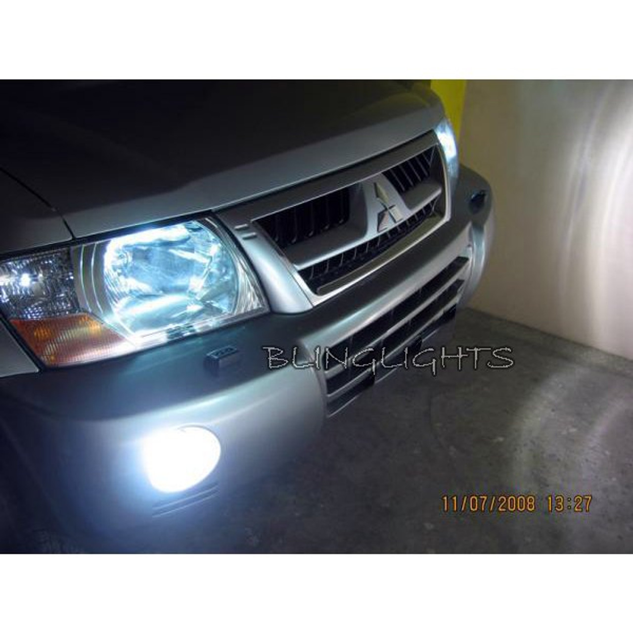 2003 2004 2005 2006 Mitsubishi Montero Halo Foglamps Angel Eye Fog Lamps Driving Halos Lights Kit