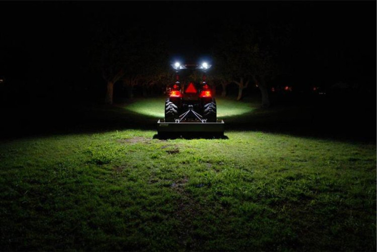 Kubota Tractor LED Flood Pattern Auxiliary Lights Kit