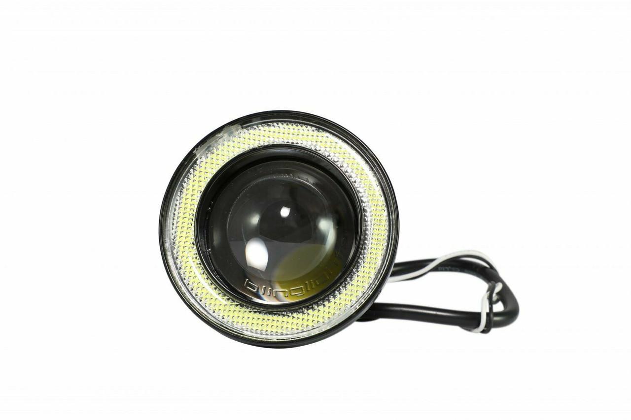 White LED Fog Lamp Light Kit For 2015 2016 2017 2018 2019 2020 2021 Nissan Frontier