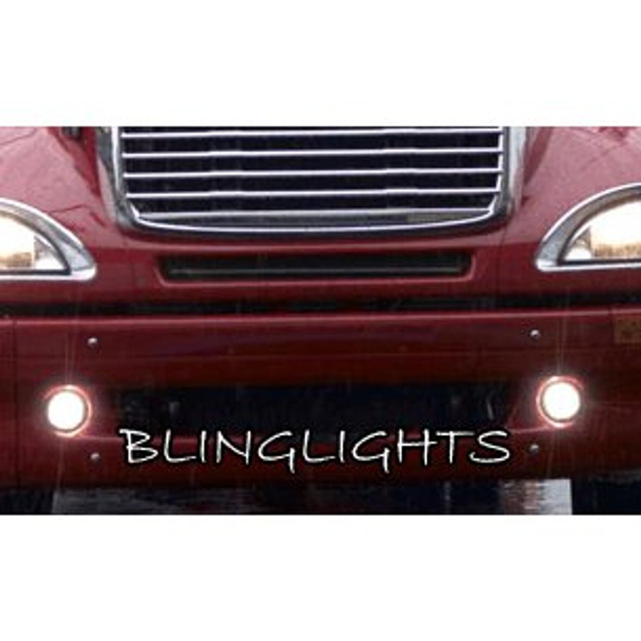 Freightliner Columbia Halo Fog Lamps Angel Eye Driving Lights Foglamps Foglights Drivinglights Kit