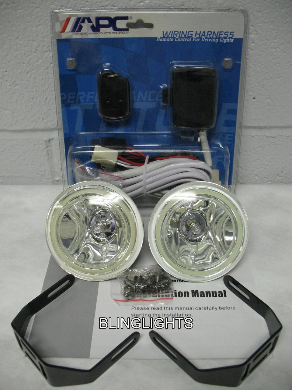 1997-2004 Dodge Dakota Xenon Foglamps Drivinglights
