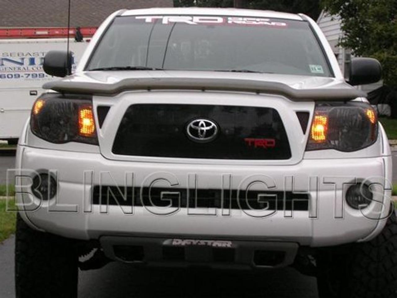 2005 2006 2007 2008 2009 2010 Toyota Tacoma Fog Lamps Tint Lights Films Smoked Lense Protection