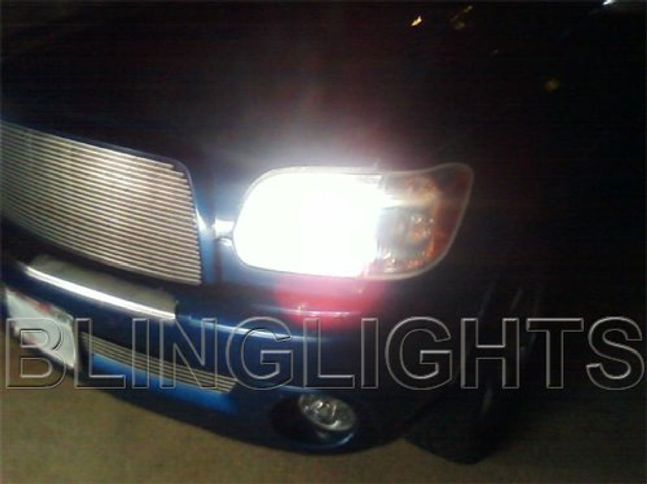 2003 2004 2005 2006 Toyota Tundra Bright White Light Bulbs for Headlamps Headlights Head Lamps