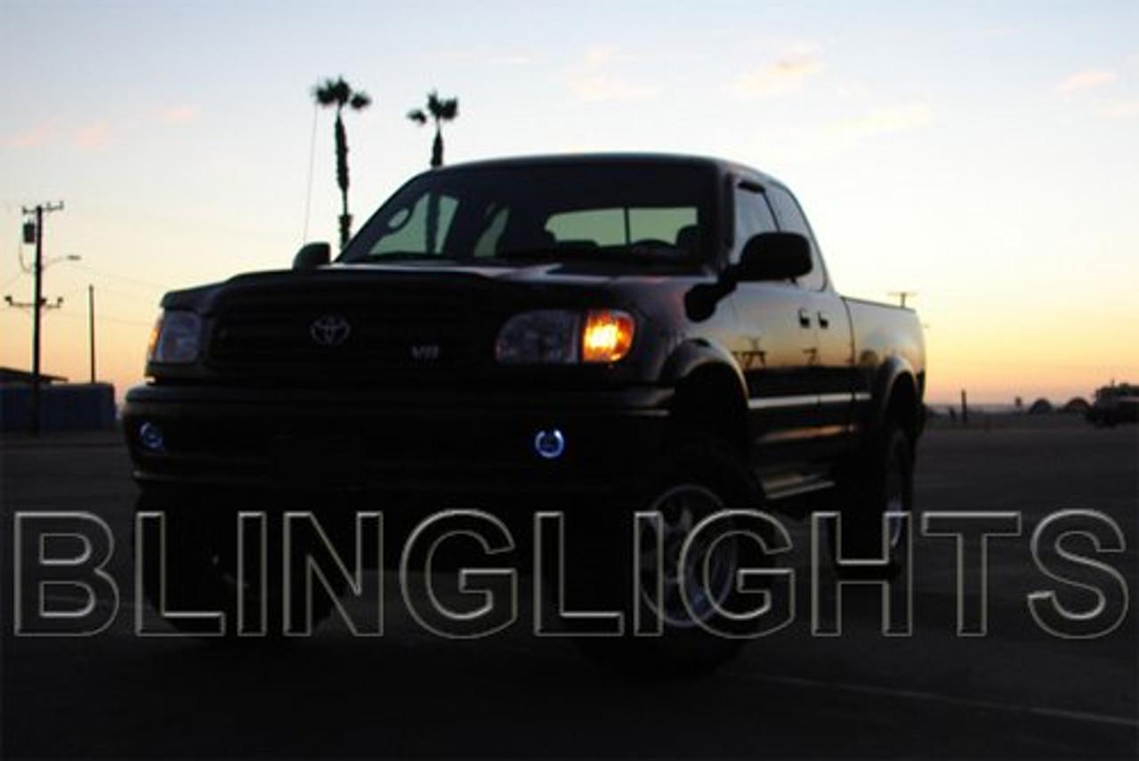 2000 2001 2002 Toyota Tundra Angel Eye Halo Fog Lamps Lights Kit