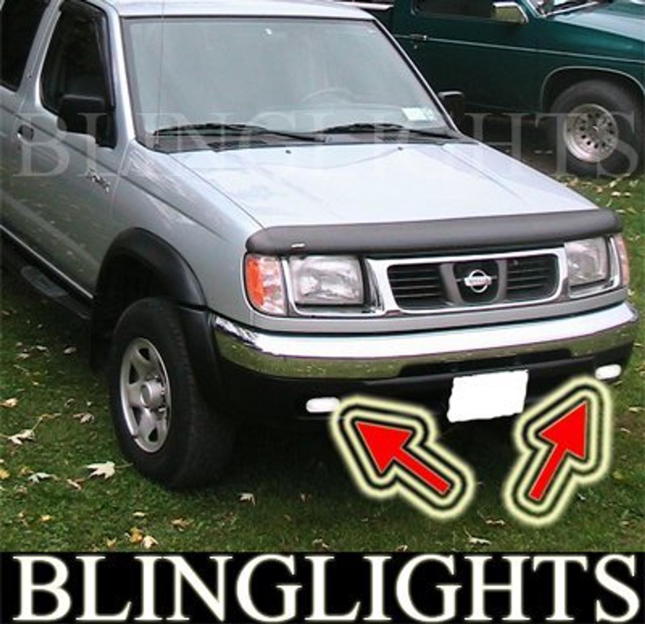 1998 1999 2000 Nissan Navara D22 Driving Lamps Fog Lights Kit