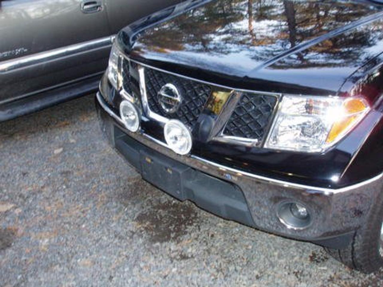 Nissan Navara Off Road Bumper Grille Drivinglights Foglamps Blinglights Com