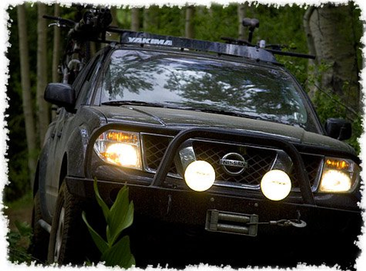Nissan Frontier Bumper >> Nissan Frontier Bumper Or Lamp Bar Auxiliary Off Road Driving Lights