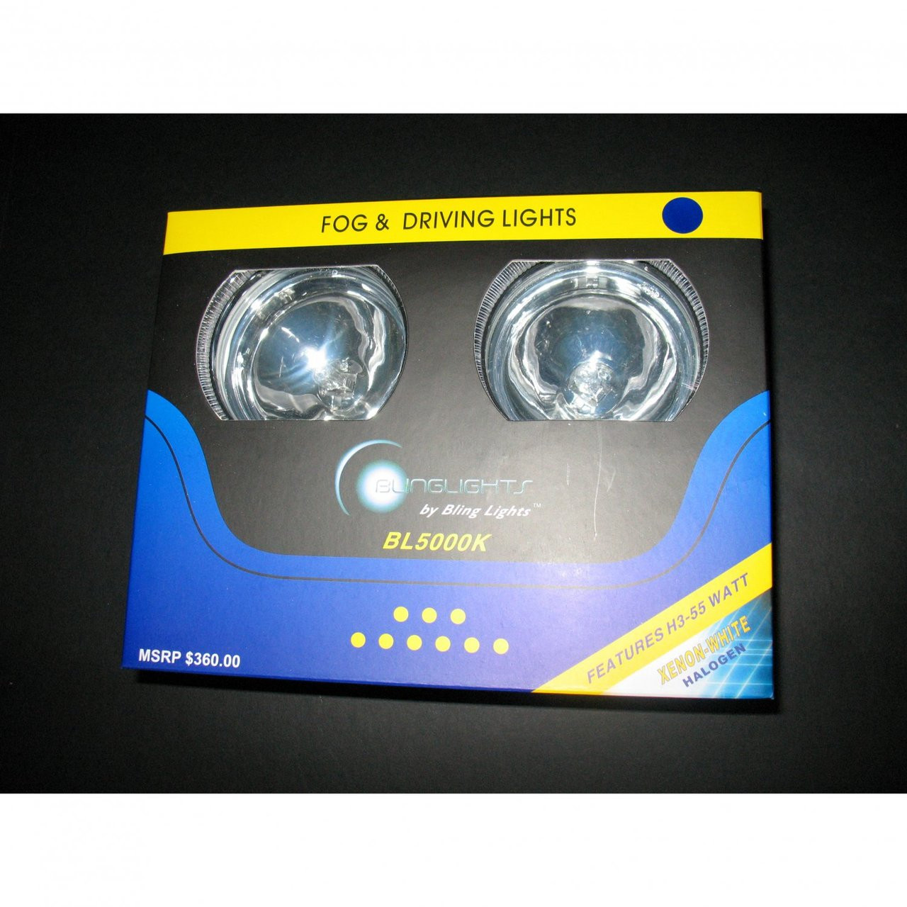 2012 2013 2014 Toyota Hilux Halo Fog Lamps Angel Eye Driving Lights Foglamps Foglights Kit