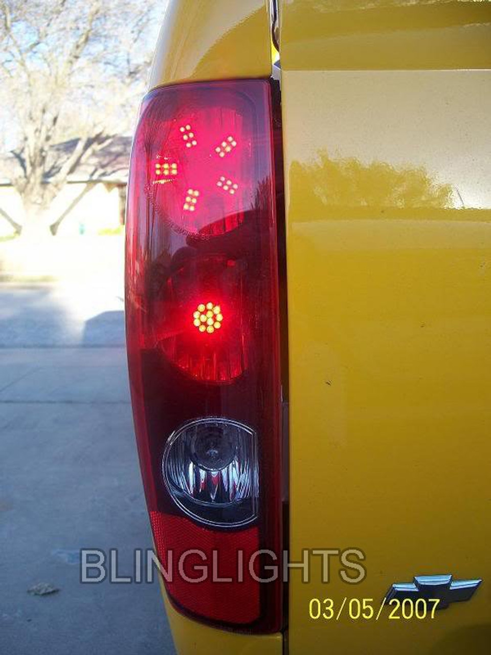 Chevrolet Colorado Custom LED Tail Lamp Spider Light Bulbs Chevy
