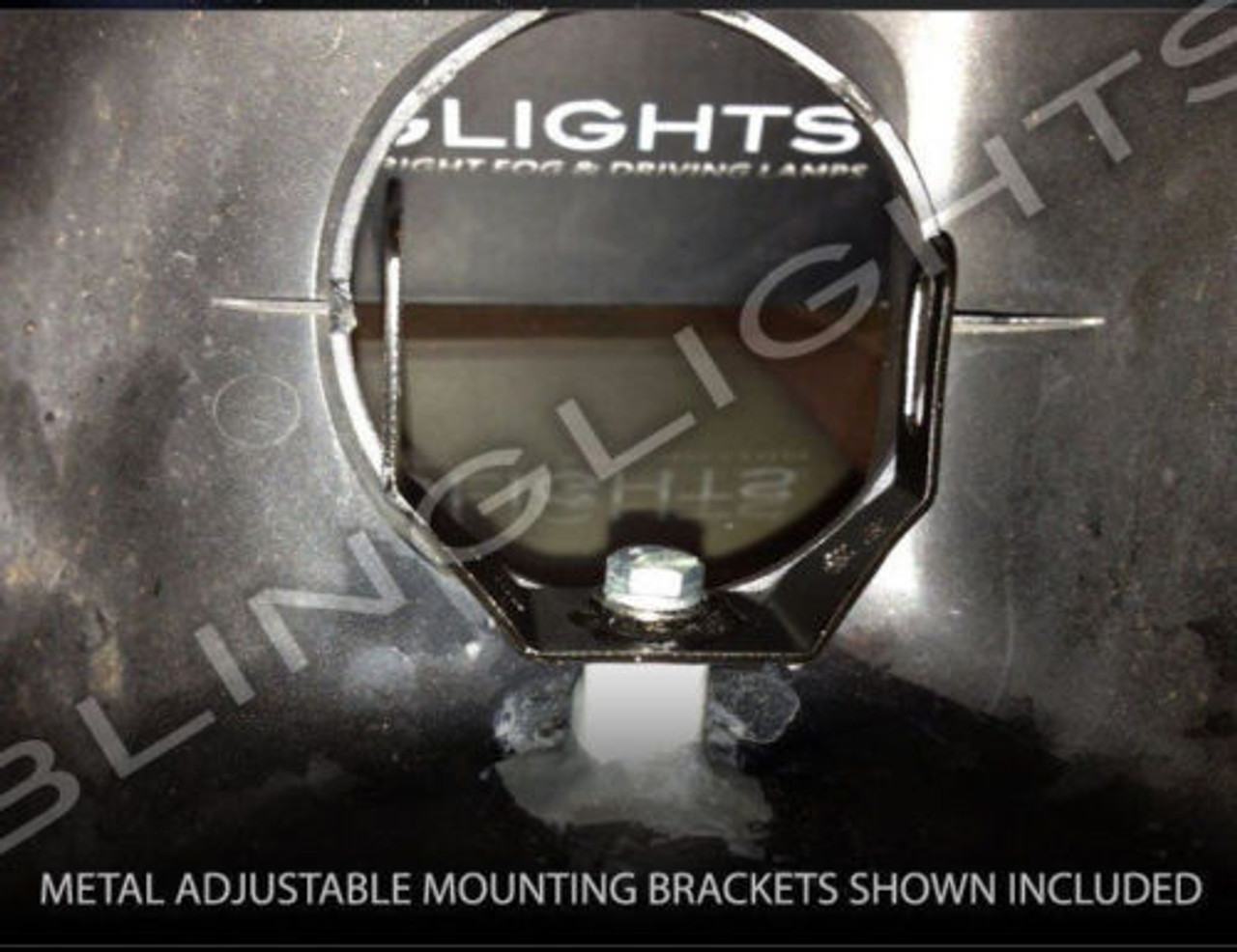 White LED Halo Fog Lamps Driving Lights for Honda GL 1800 GoldWing GL 1800