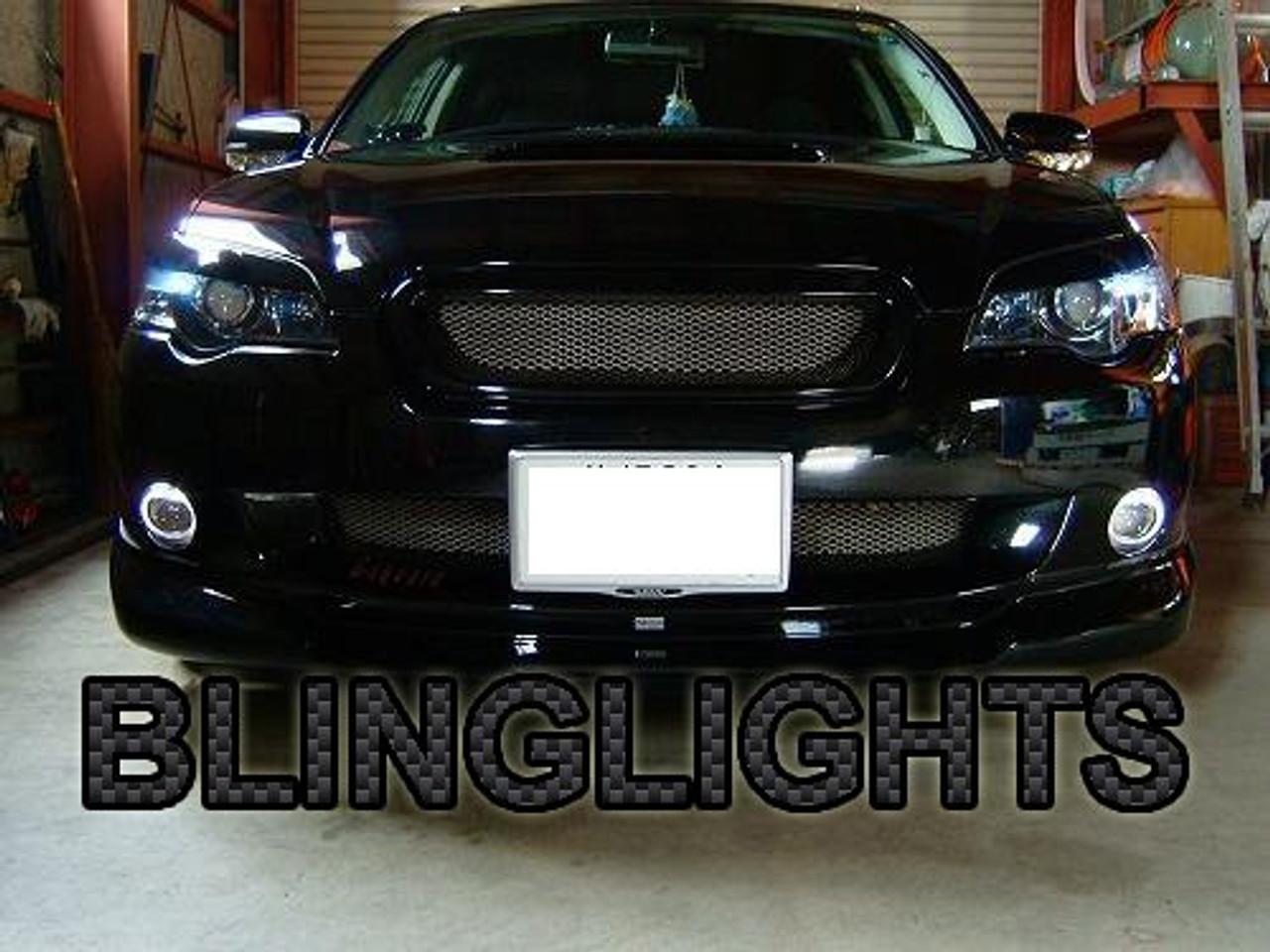 White LED Halo Fog Lamp Driving Light Kit For 2003-2009 Subaru Legacy BL BP