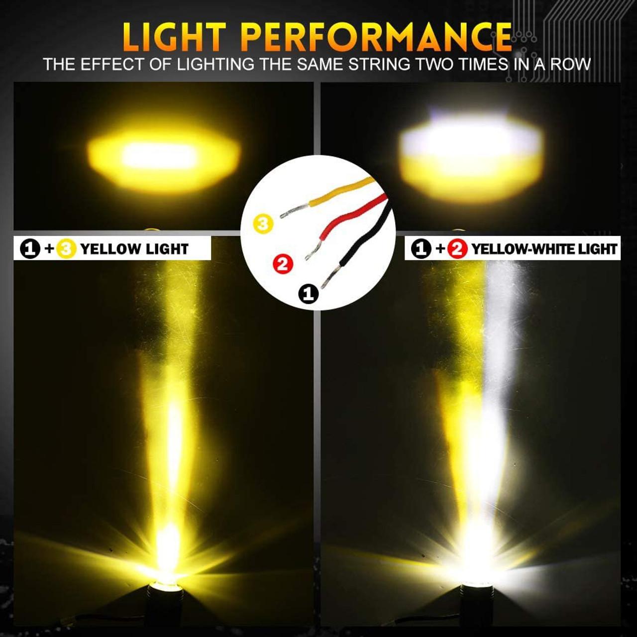 Bottom LED Fog Lights for 2021 2022 2023 Chevrolet Trailblazer RS