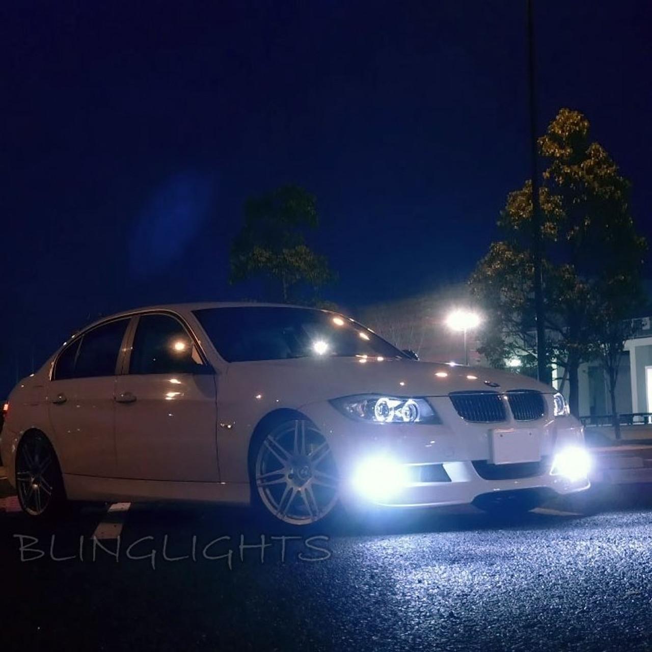 2007 2008 2009 2010 2011 2012 BMW M3 LED Fog Lamps Driving Lights Foglamps Foglights Kit