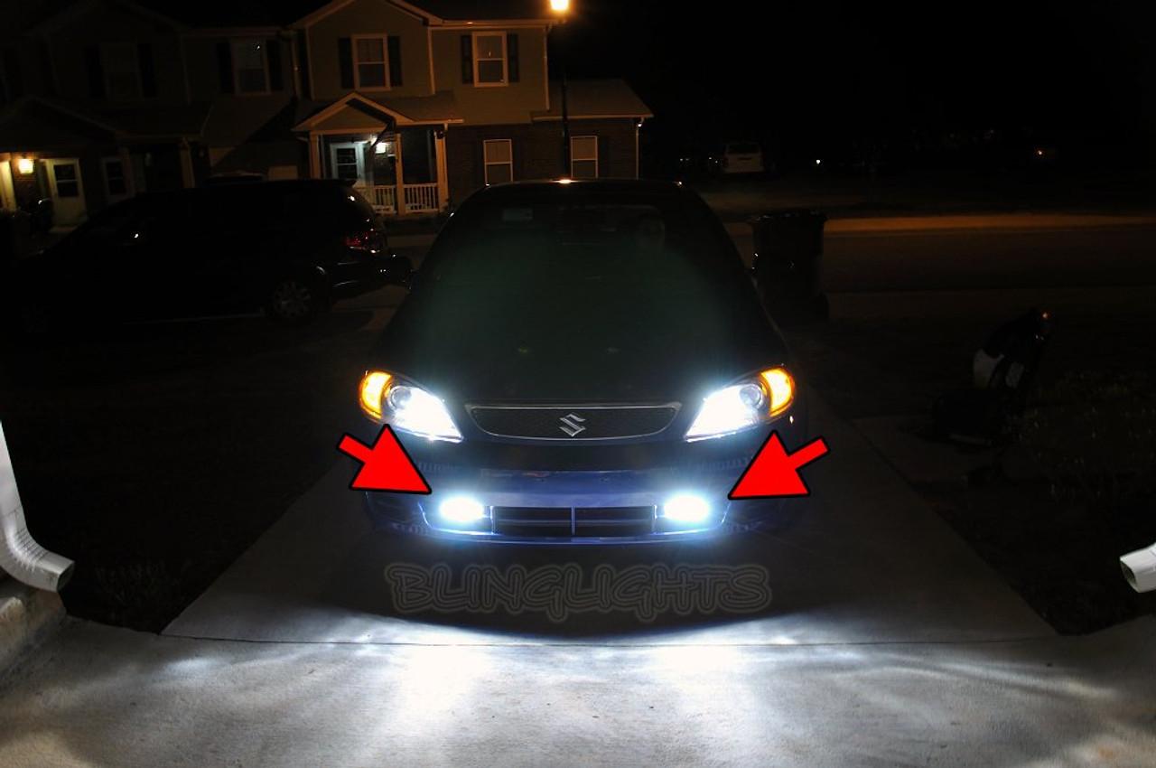 2004 2005 2006 2007 2008 Suzuki Reno Xenon Bumper Fog Lamps Driving Lights Foglamps Kit
