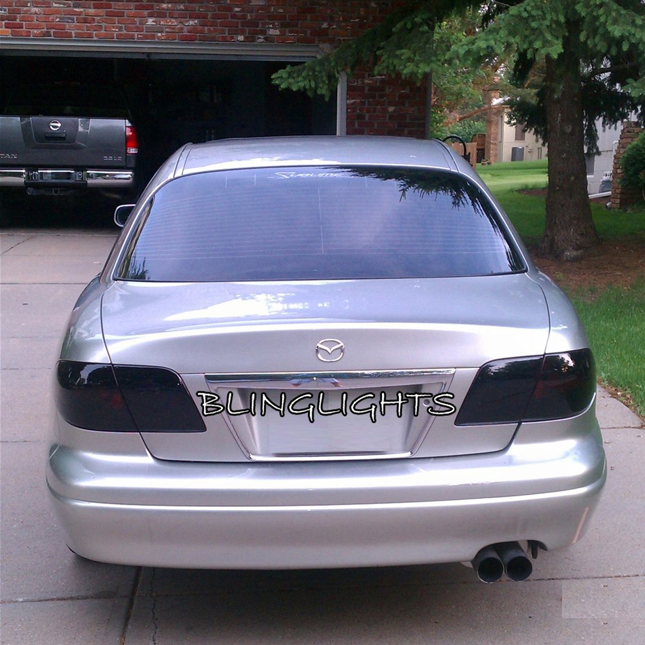 Mazda Millenia Tinted Smoked Taillamp Taillight Overlays Film Protection Kit