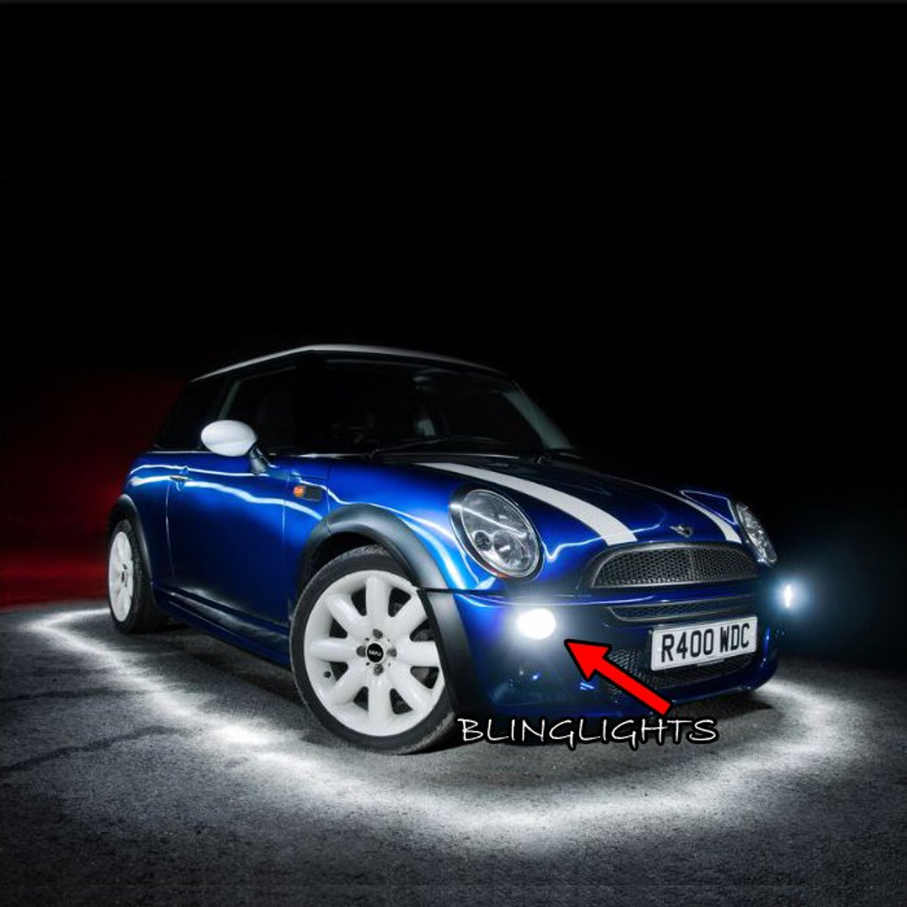 2001 2006 Bmw Mini Cooper S Xenon Fog Lamp Driving Light Kit R53 Mk