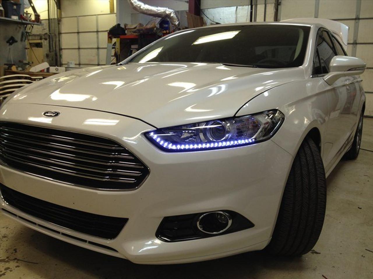 Chevrolet Aveo LED DRL Head Lamp Daytime Running Light Strips