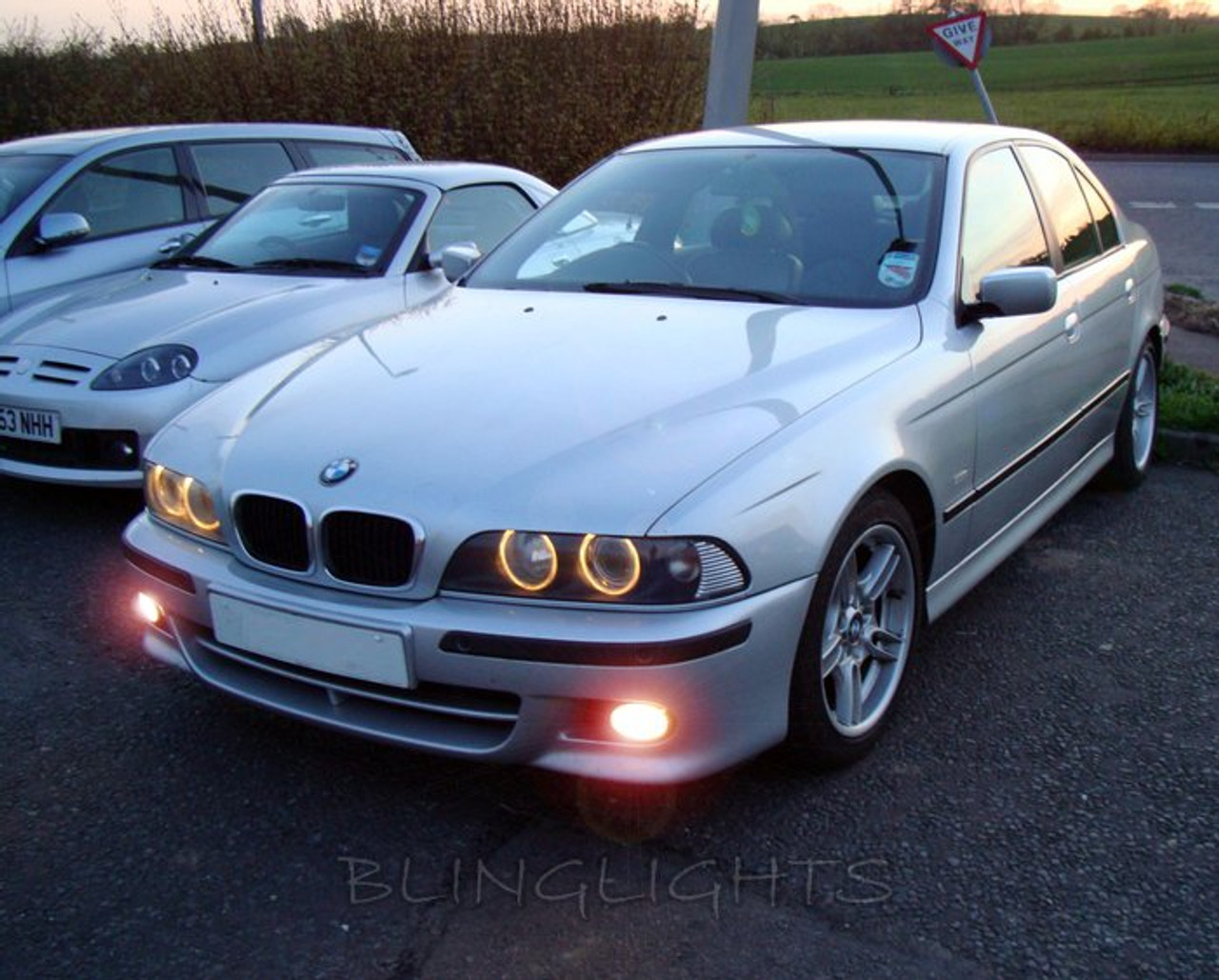 2000 2001 2002 2003 Bmw 5 Series E39 M Sport Xenon Fog Lamps Driving Lights Foglamps Foglights Kit Blinglights Com