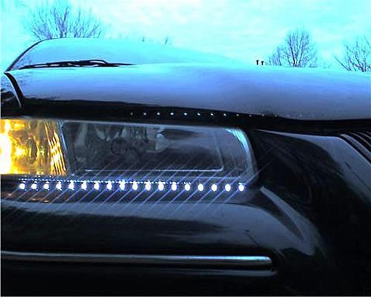 Chrysler Sebring LED DRL Head Light Strips Daytime Running Lamps
