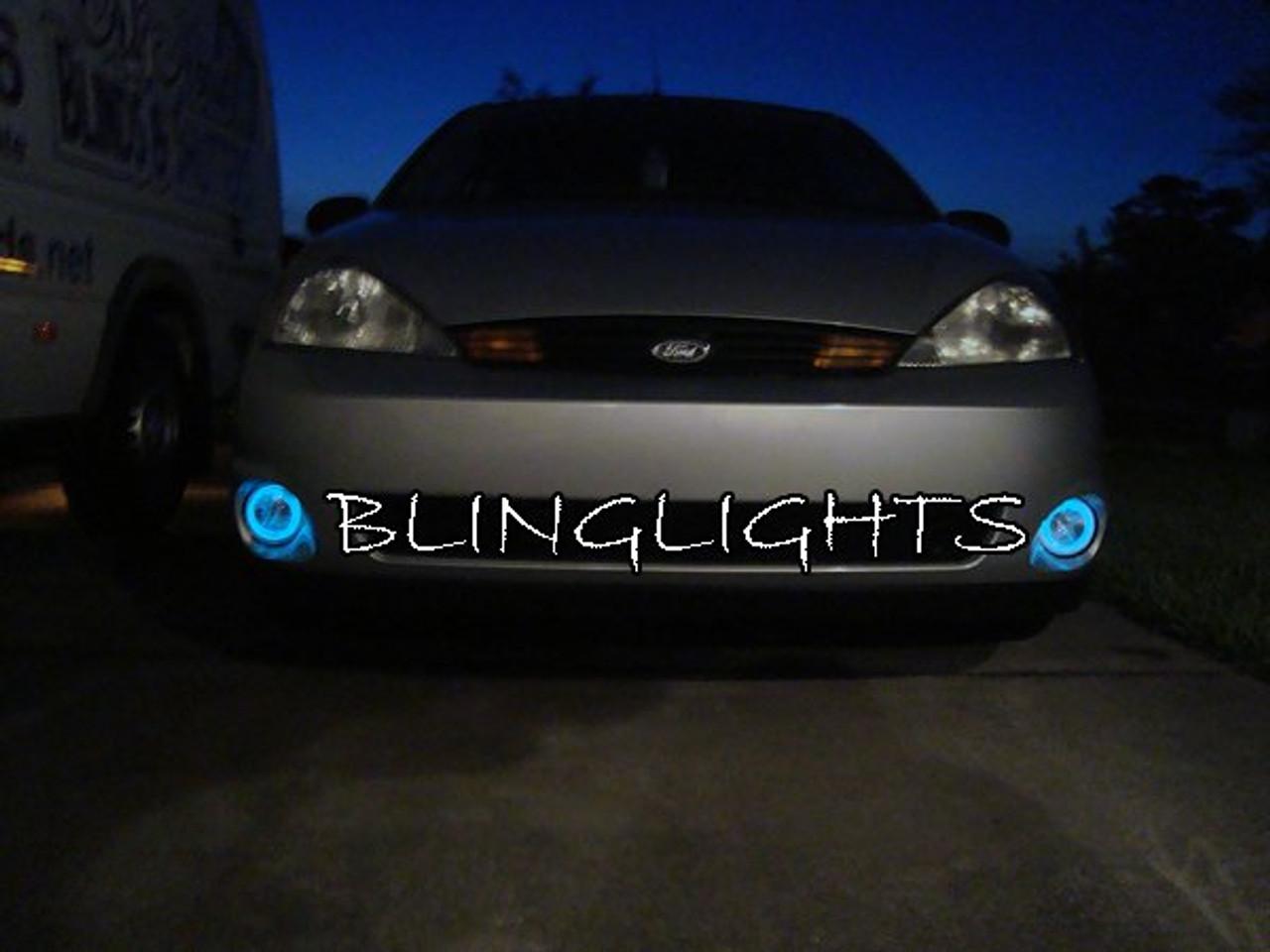 2001-2004 Ford Focus SVT mk1 Halo Fog Lamp Light Kit Angel Eye Drivinglights