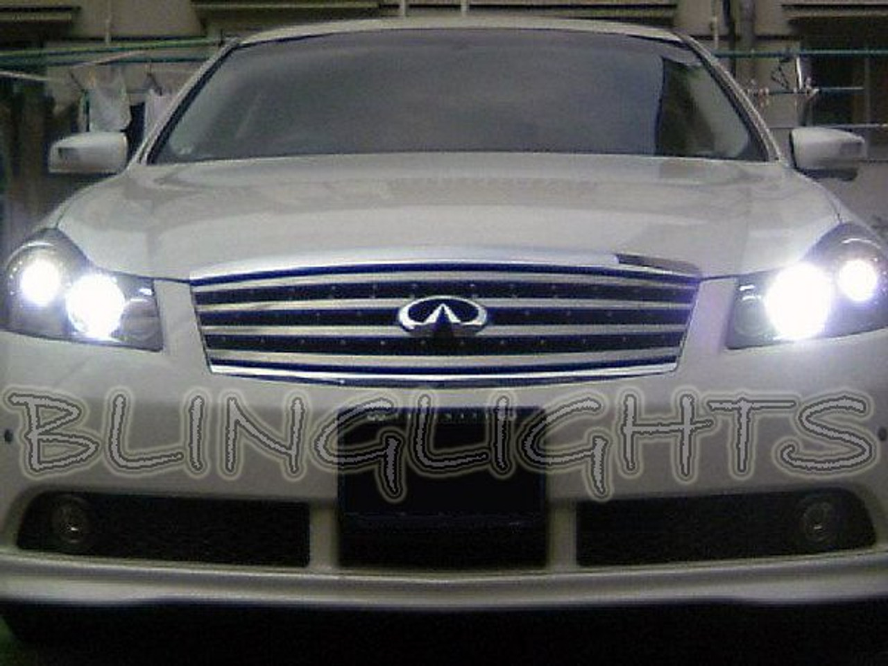 2006 2007 2008 Infiniti M35 M45 Halogen White Bright Headlamps Bulbs Headlights Head Lamps Lights