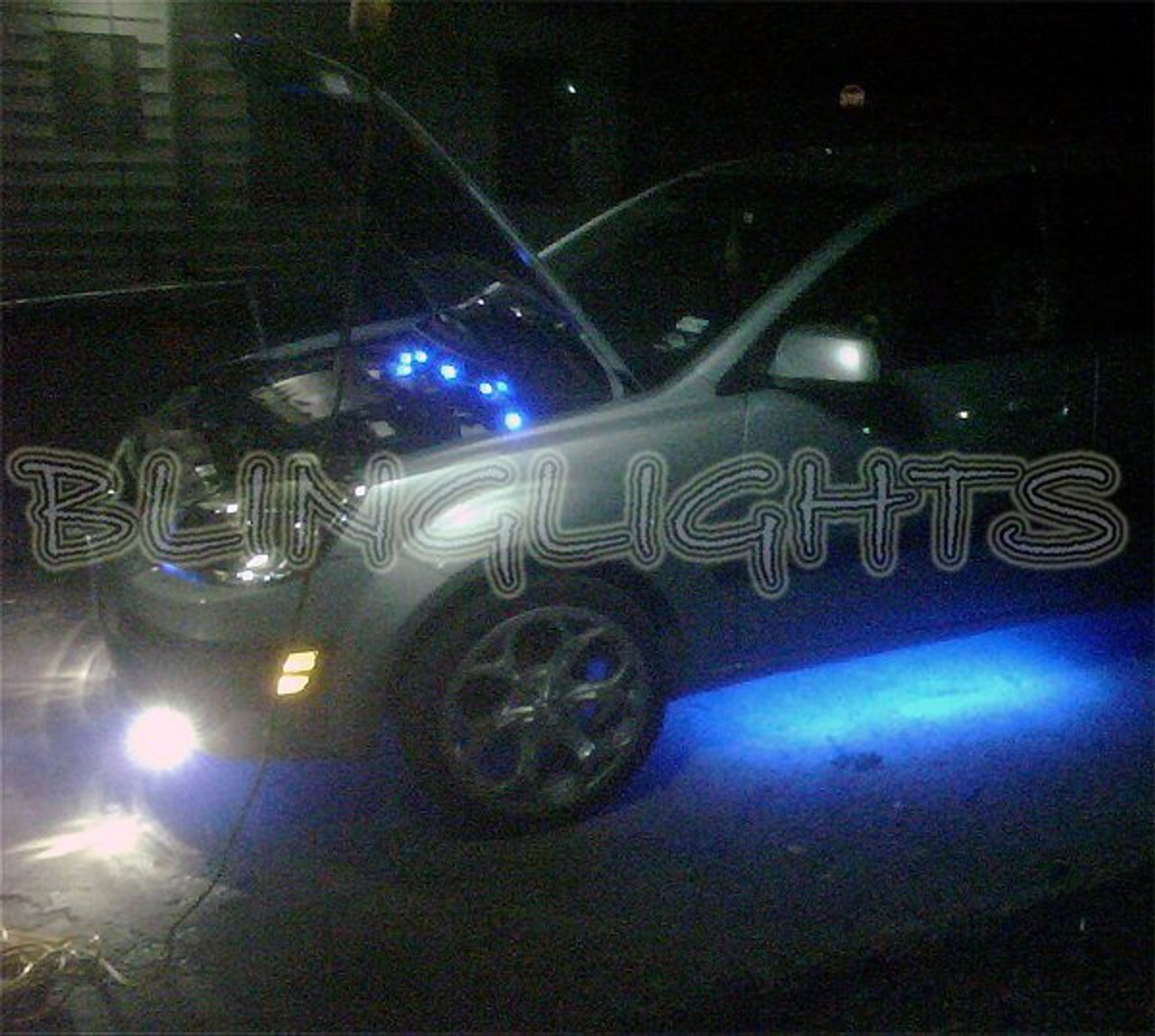 2006 2007 2008 2009 Kia Rio Rio5 Xenon Fog Lamps Driving Lights Foglamps Foglights Drivinglights Kit
