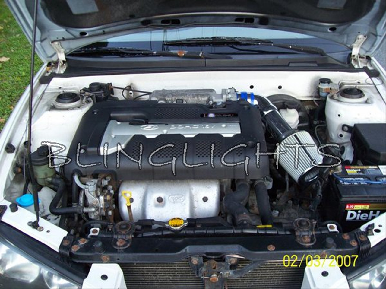 2001 2002 2003 2004 2005 2006 Hyundai Elantra Performance Engine Air Intake GLS GT 1.6L 1.8L 2.0L