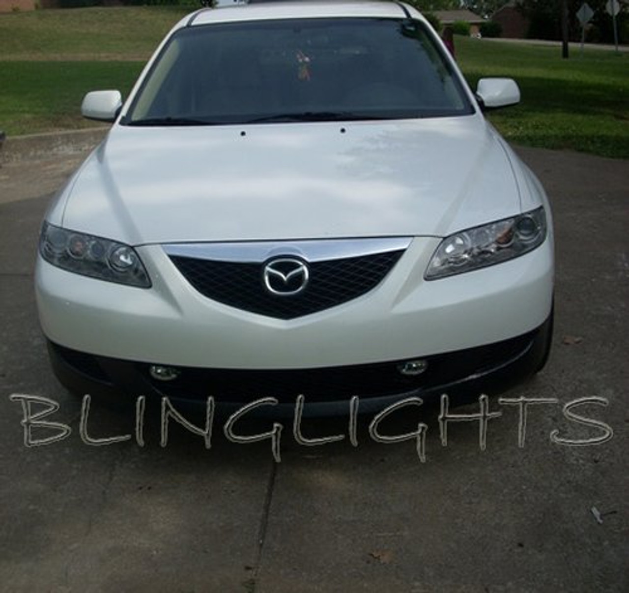 2003 2004 2005 2006 2007 2008 Mazda6 Xenon Grille Fog Lamps Driving Lights Foglamps Foglights Kit