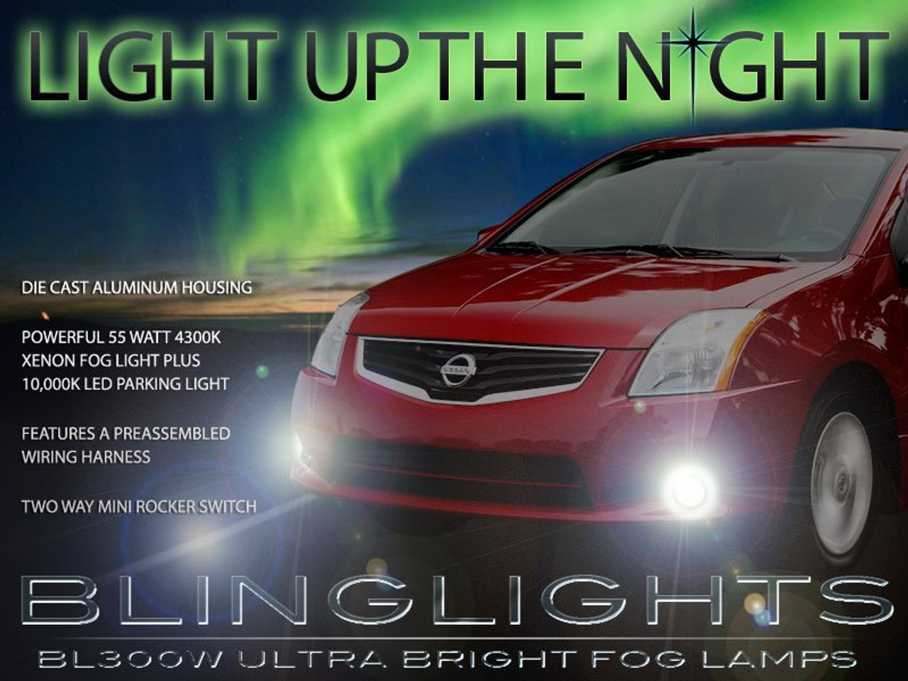 Fog Light Bracket For 2007 2008 2009 2010 2011 2012 Nissan Sentra Right