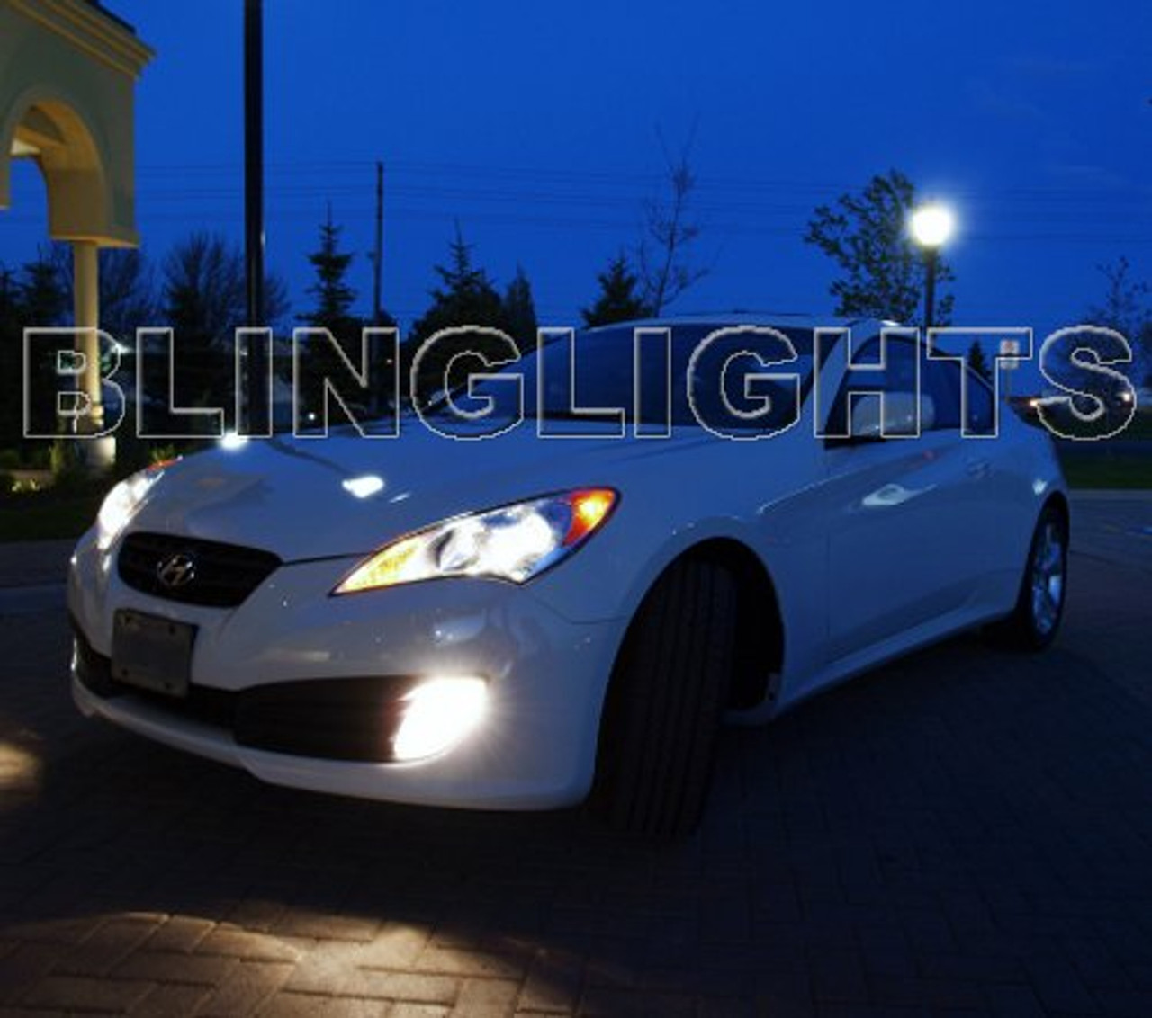 2010 2011 2012 Hyundai Genesis Coupe Bright Bulbs For Headlamps Headlights Head Lamps Lights