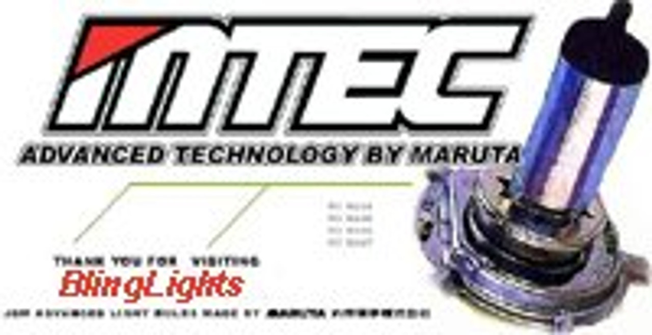 1992 1993 1994 Mitsubishi Eclipse 4750K White Halogen Headlights Bulbs Headlamps Head Lights Lamps