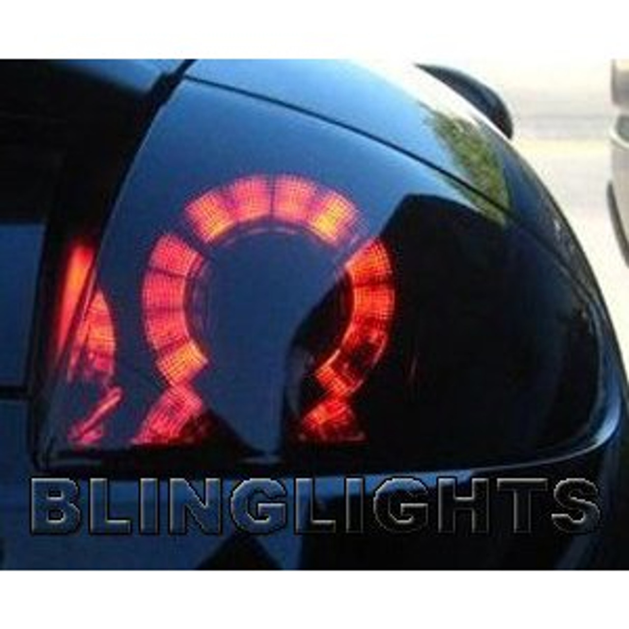 06-08 Mitsubishi Elclipse Smoked Tinted Tail Light Lamps Overlays Film Protection Kit