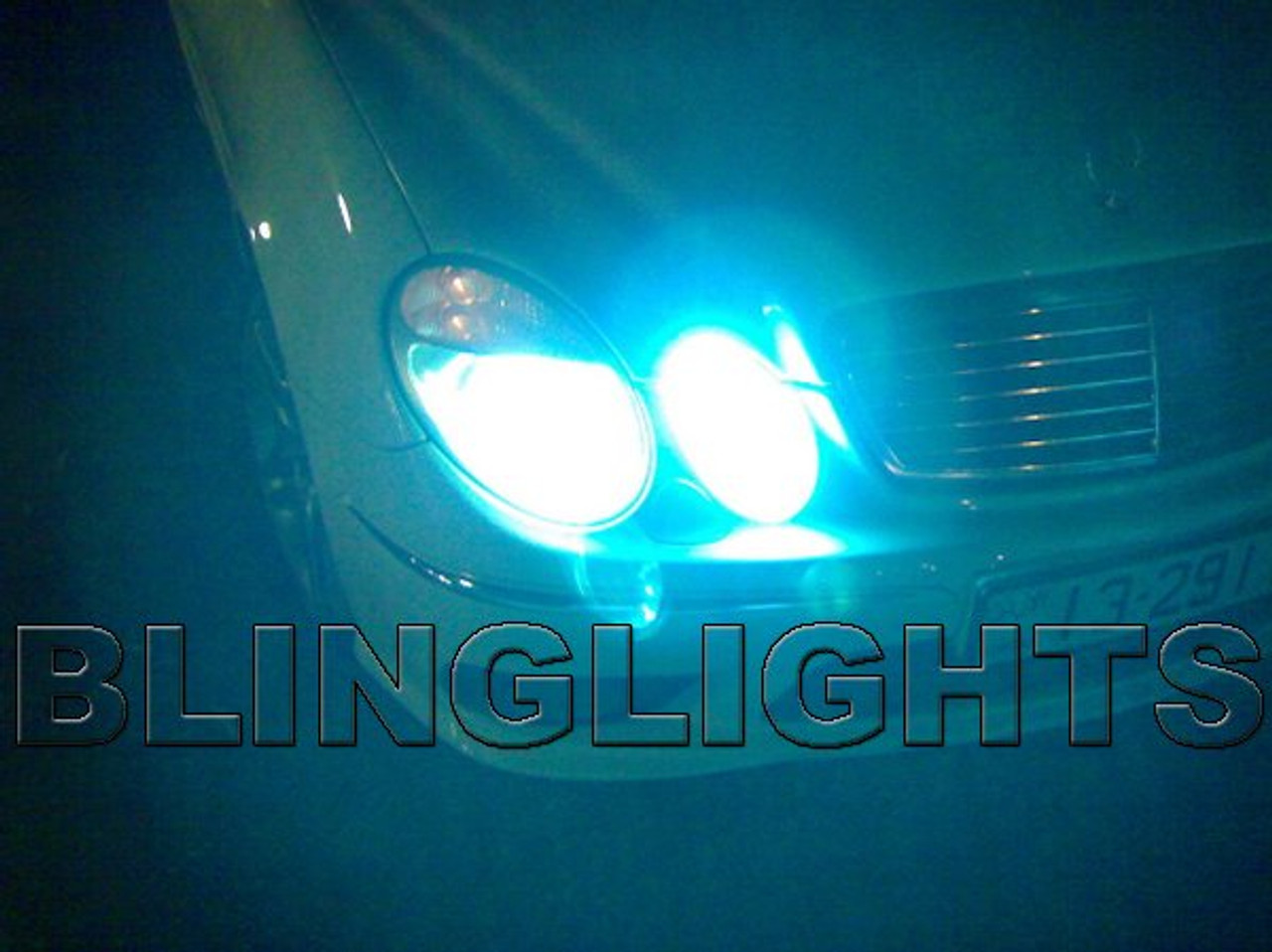1996 1997 Mercedes-Benz E300 Diesel OEM HID Headlights Bulbs Headlamps Head  Lights Lamps E 300 w210