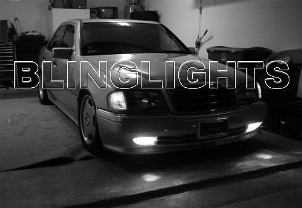 1995 1996 1997 Mercedes-Benz C36 AMG Xenon Fog Lights Driving Lamps  Foglamps Lamp Kit C 36 w202