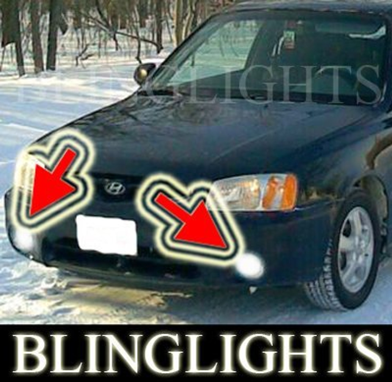 2000 2001 2002 hyundai accent xenon fog lights driving lamps kit blinglights com 2000 2001 2002 hyundai accent xenon fog lights driving lamps kit