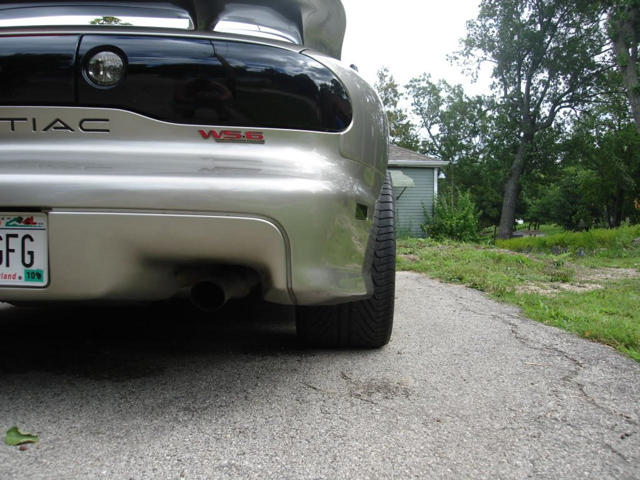 Pontiac Firebird Trans Am Tinted Tinted Tail Lights Smoked Overlays Film Covers