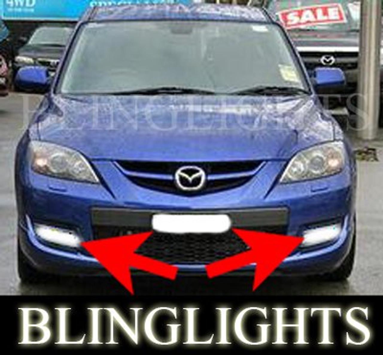 Xenon Halogen Fog Lamps Lights Kit for 2010-2011 Mazda3 Speed mazda 3