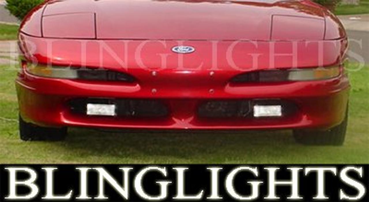 1992 1997 Ford Probe Fog Lights Driving Lamps Light Lamp Kit Se Gt