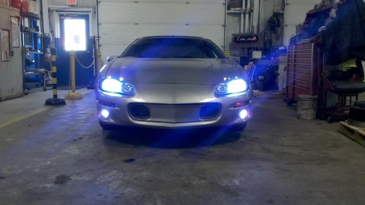 1998 1999 2000 2001 2002 Chevrolet Camaro 6000K Fog Lamps Lights Kit