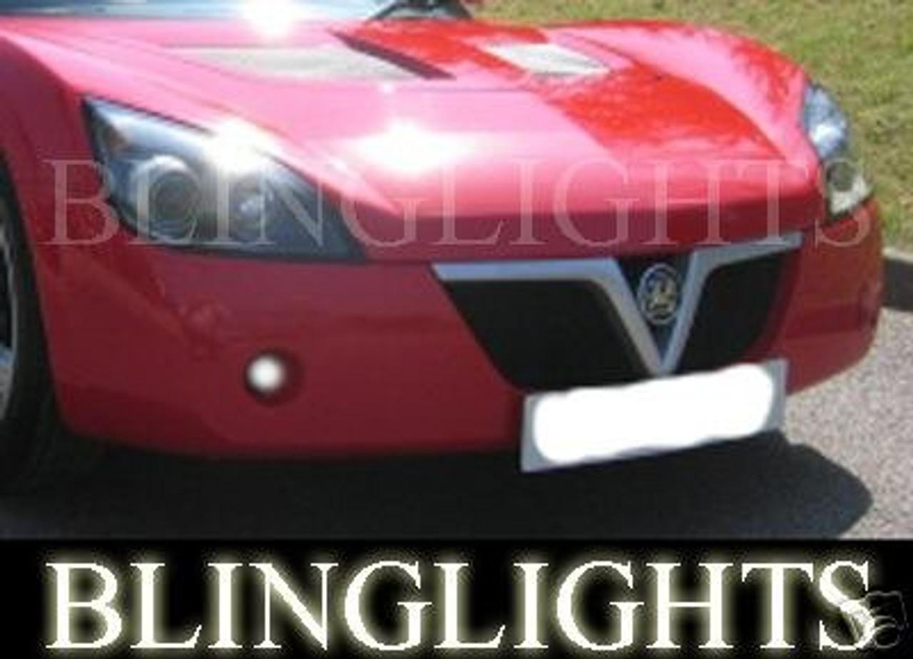 2001 2002 2003 2004 2005 2006 Opel Speedster Xenon Fog Lamps Driving Lights Foglamps Foglights Kit