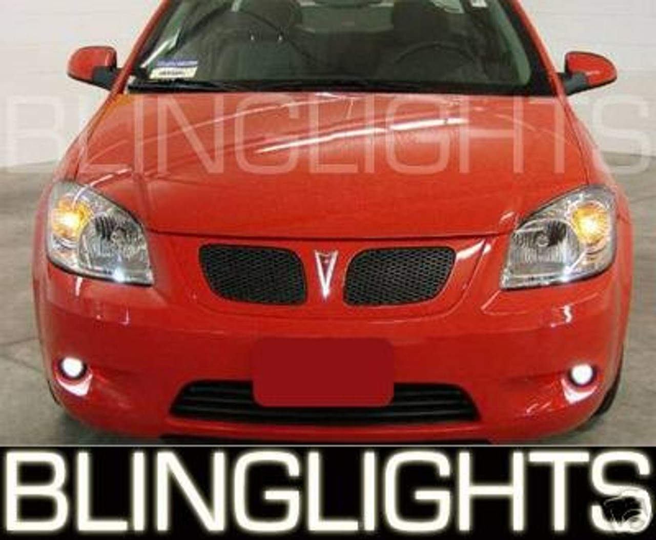 2005 2006 2007 2008 2009 2010 Pontiac G5 Halo Angel Eye Foglamps Foglights Driving Fog Lamps Lights
