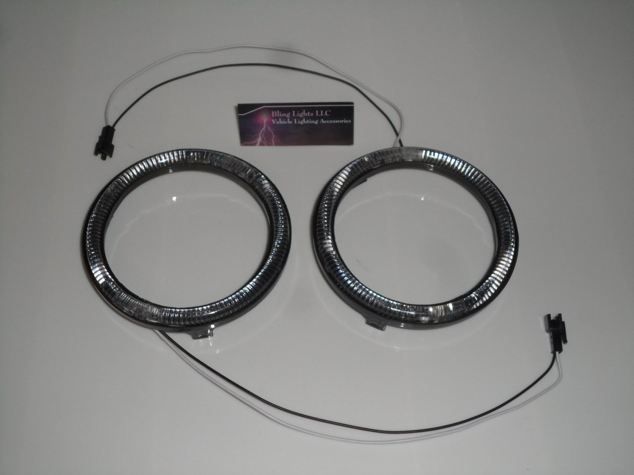 6x Blue LED Alfa Romeo 159 Addon Angel Eye Headlamp Headlight Halo Rings
