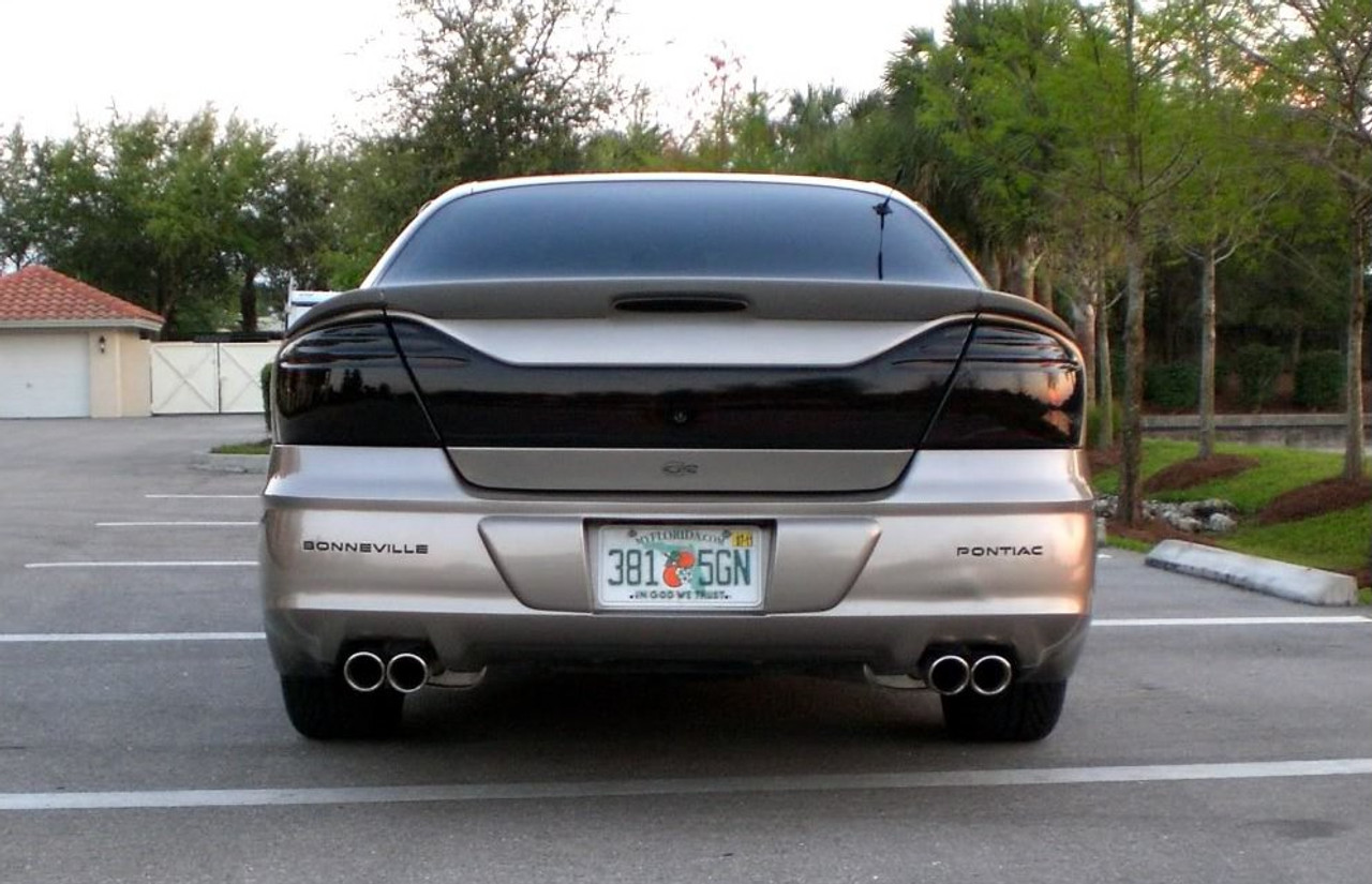 Pontiac Bonneville Tinted Taillight Film Overlay Covers
