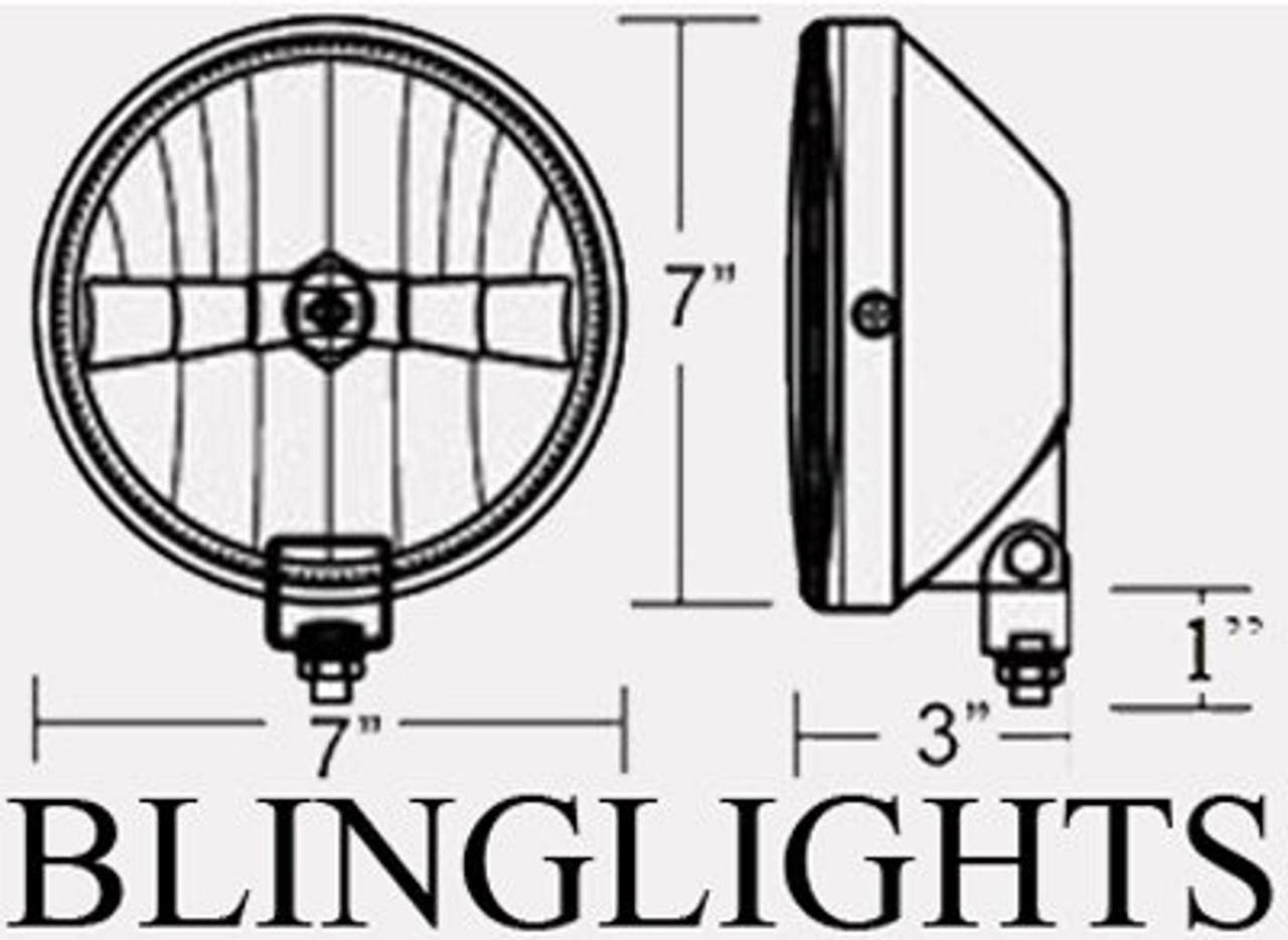 1991-1996 ACURA LEGEND EREBUNI BODY KIT BUMPER FOG LIGHTS LAMPS LAMP 1992 1993 1994 1995