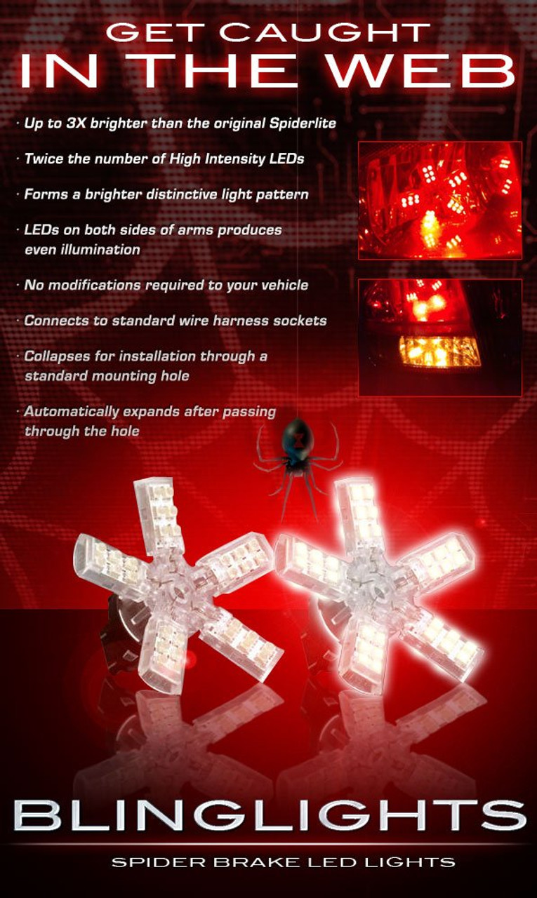 1988-2008 Pontiac Grand Prix LED Light Bulbs for Taillamps Taillights Tail Lamps Lights LEDs